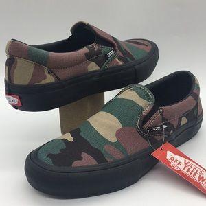 Vans Slip-On Camo Black